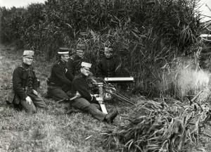 Manouevres van de Artillerie rond de Stelling van Amsterdam, 1912